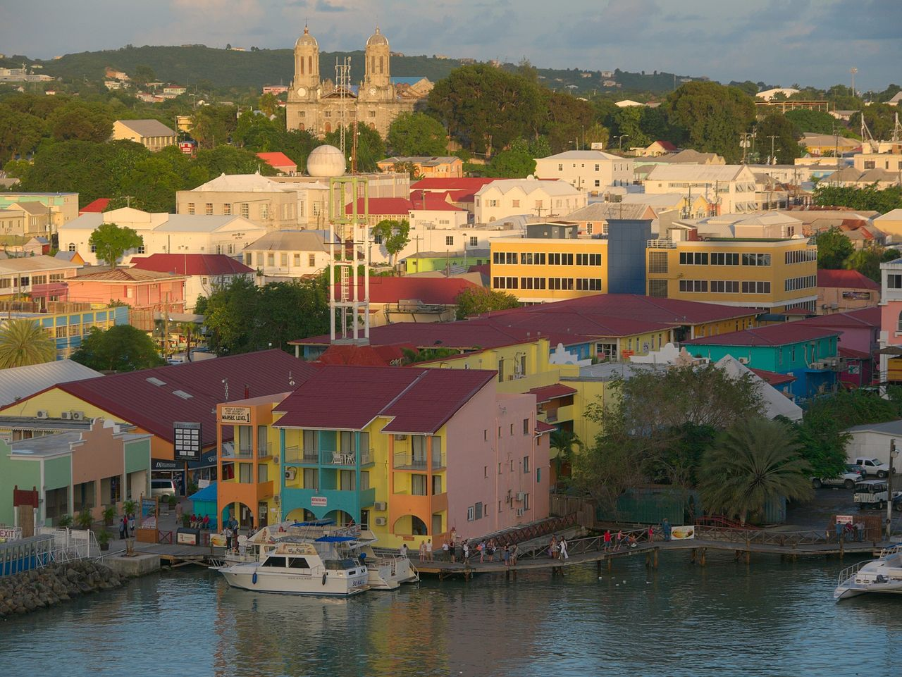 Saint John's, capitale d'Antigua-et-Barbuda