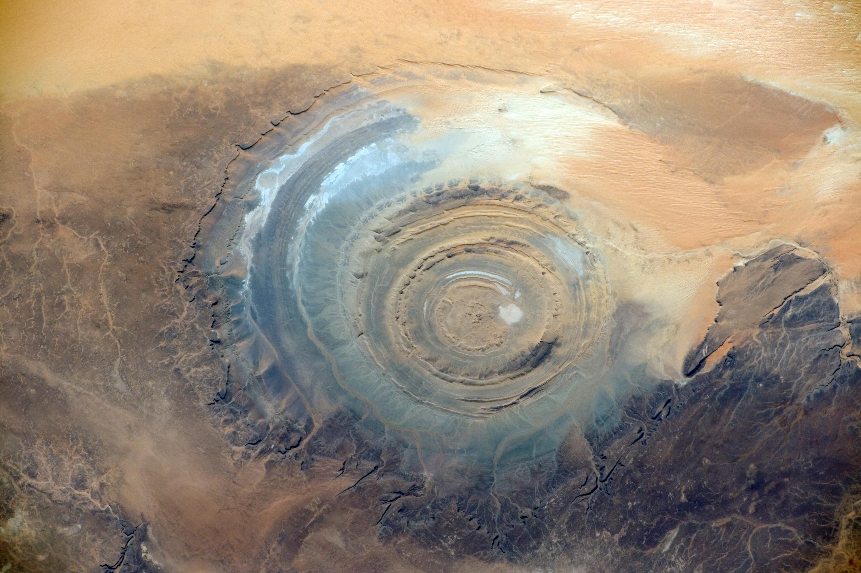 Structure de Richat, Mauritanie