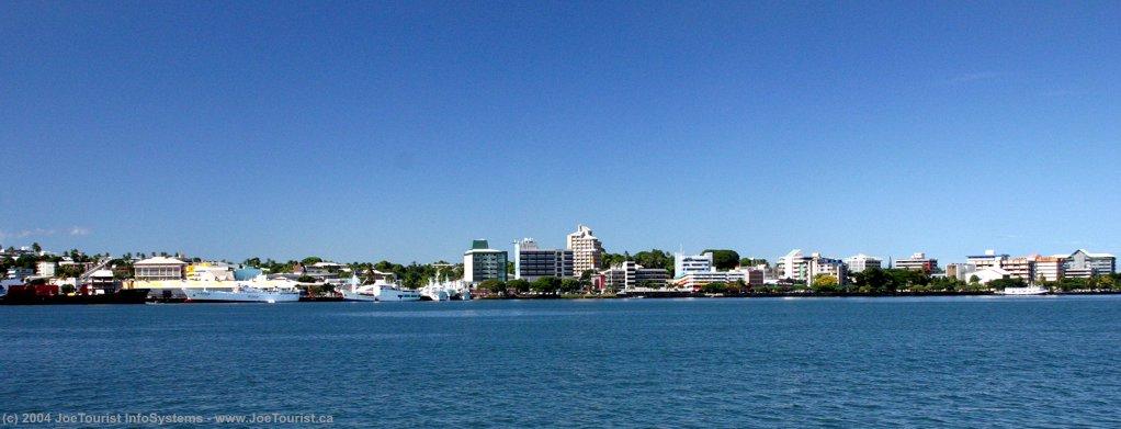 Suva, capitale des Fidji