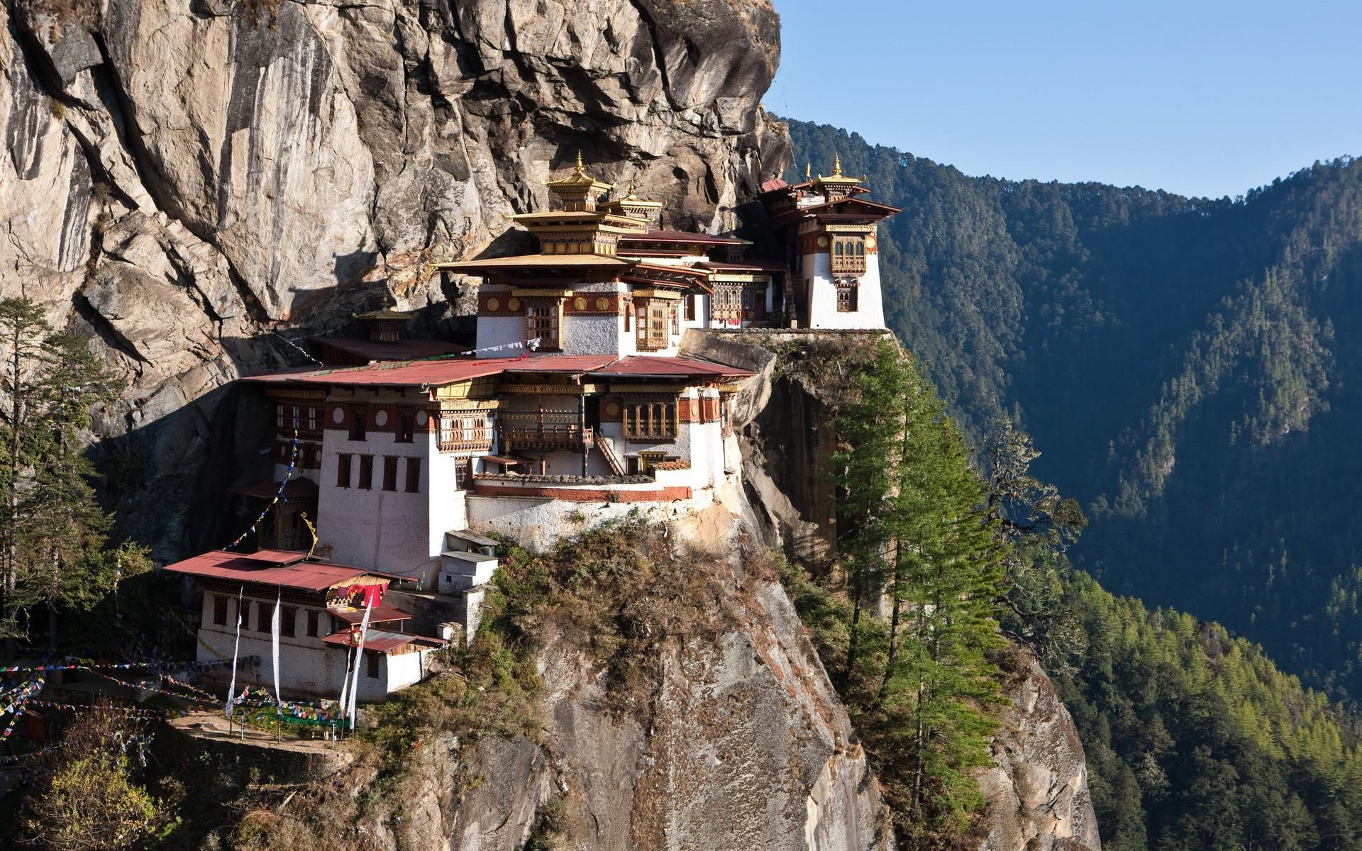 Taktshang, monastère au Bhoutan