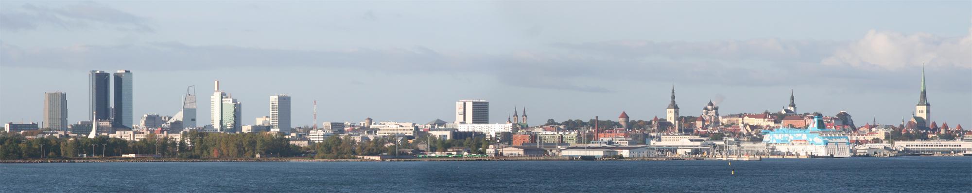 Tallinn, capitale de l'Estonie