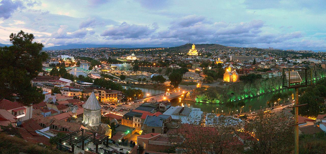 Tbilissi, capitale de la Géorgie
