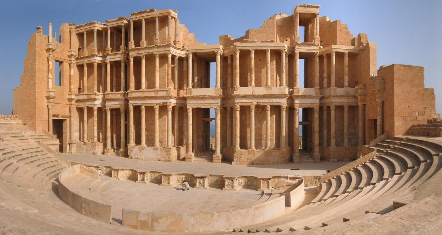 Théâtre antique de Sabratha, Libye