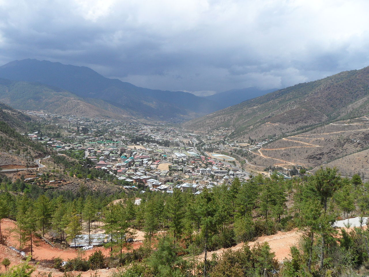 Thimphou, capitale du Bhoutan