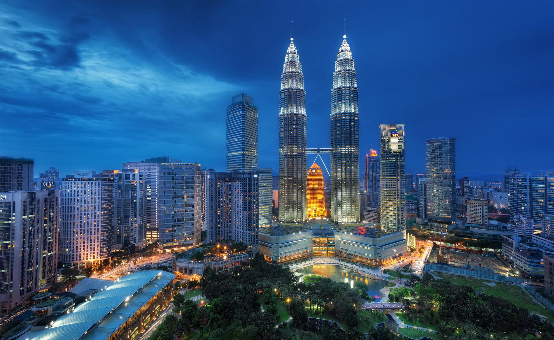 Tours Petronas, Kuala Lumpur, Malaisie
