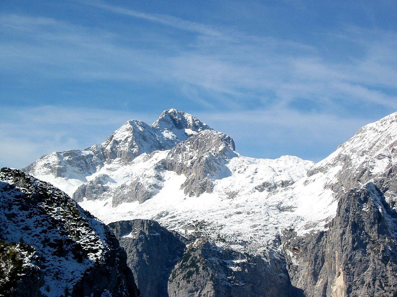 Triglav, plus haut sommet de Slovénie