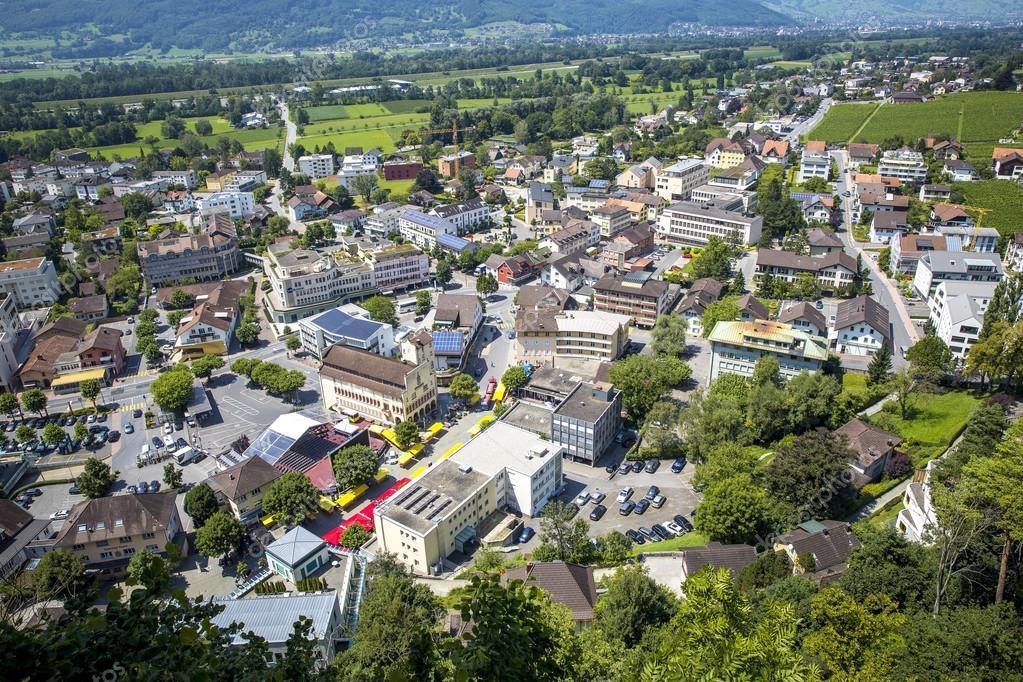 Vaduz, capitale du Liechtenstein