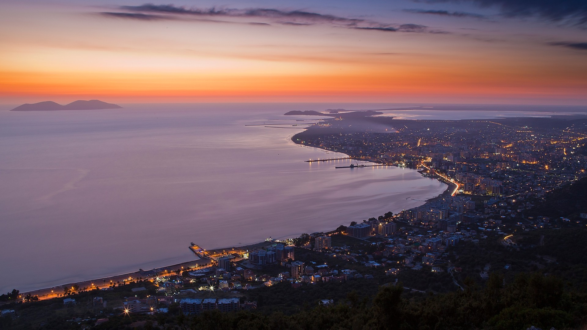 Vlora, Albanie