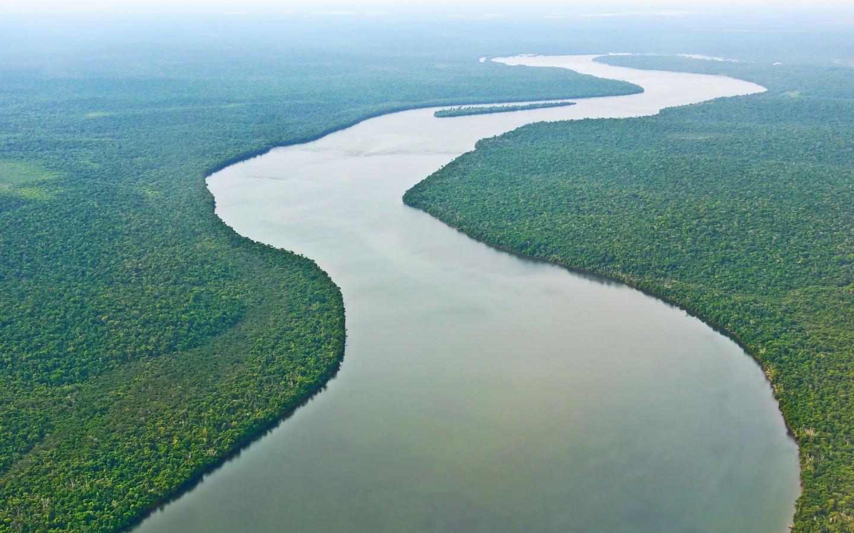 Fleuve Amazone, Brésil
