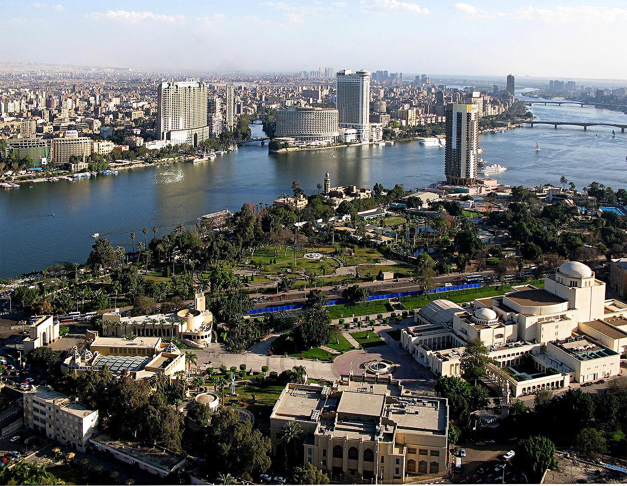 Le Caire, capitale de l'Égypte