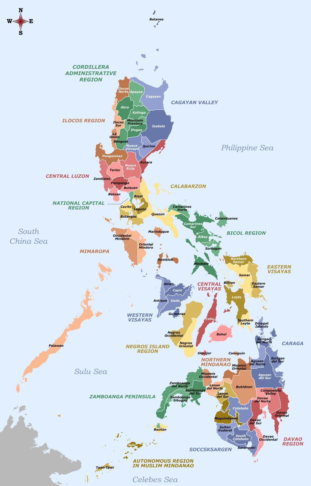 Langues aux Philippines  Wikipédia
