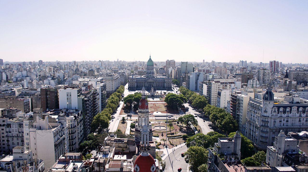 Place du Congrès, Buenos Aires, Argentine