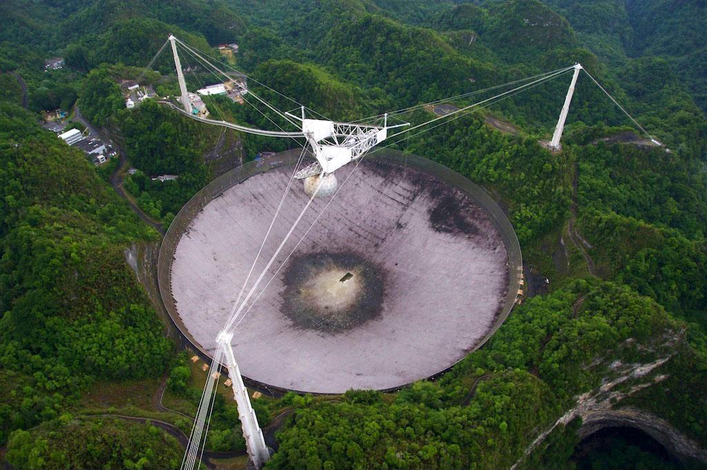 Porto Rico - radiotélescope d'Arecibo