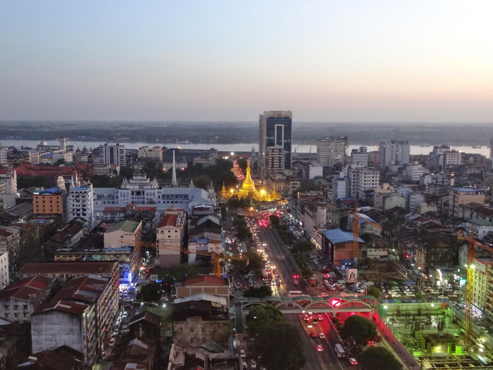 Rangoun, capitale économique de la Birmanie