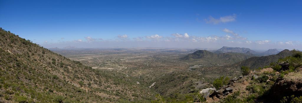 Paysage de Somalie