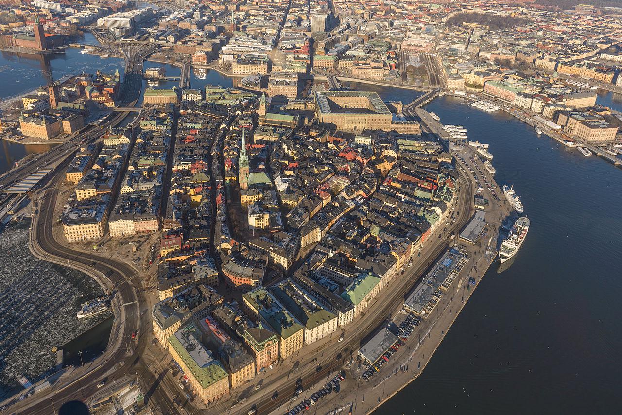 Vieille ville de Stockholm, capitale de la Suède