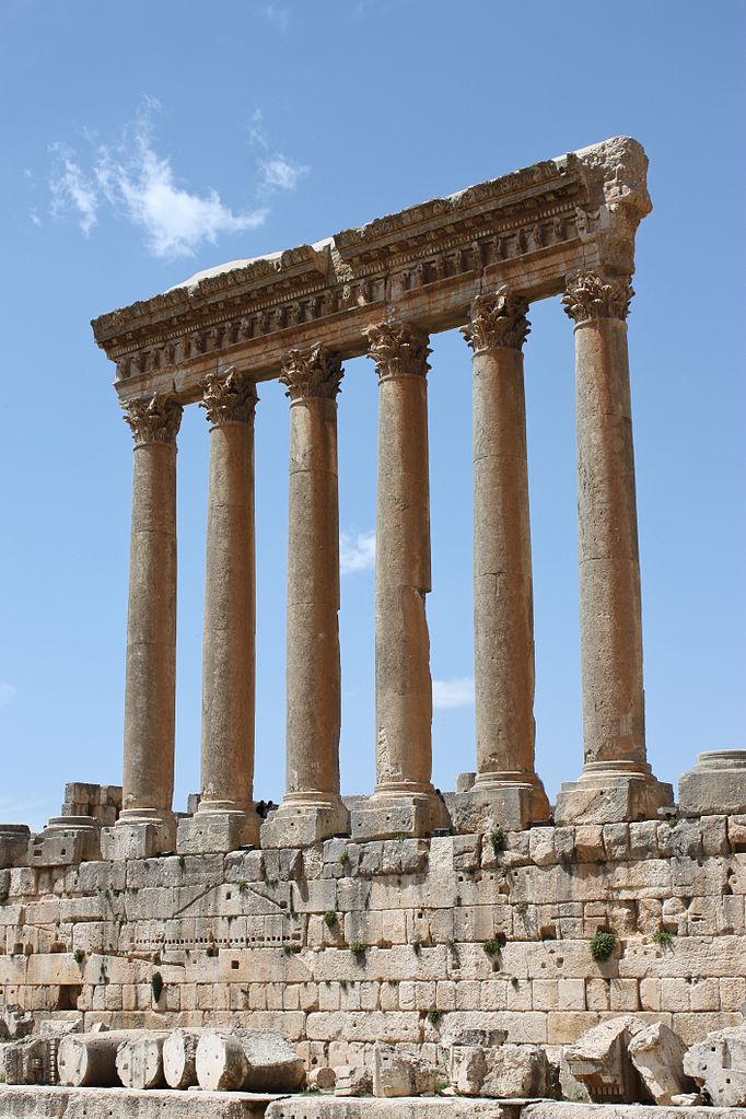 Temple de Jupiter, Baalbek, Liban