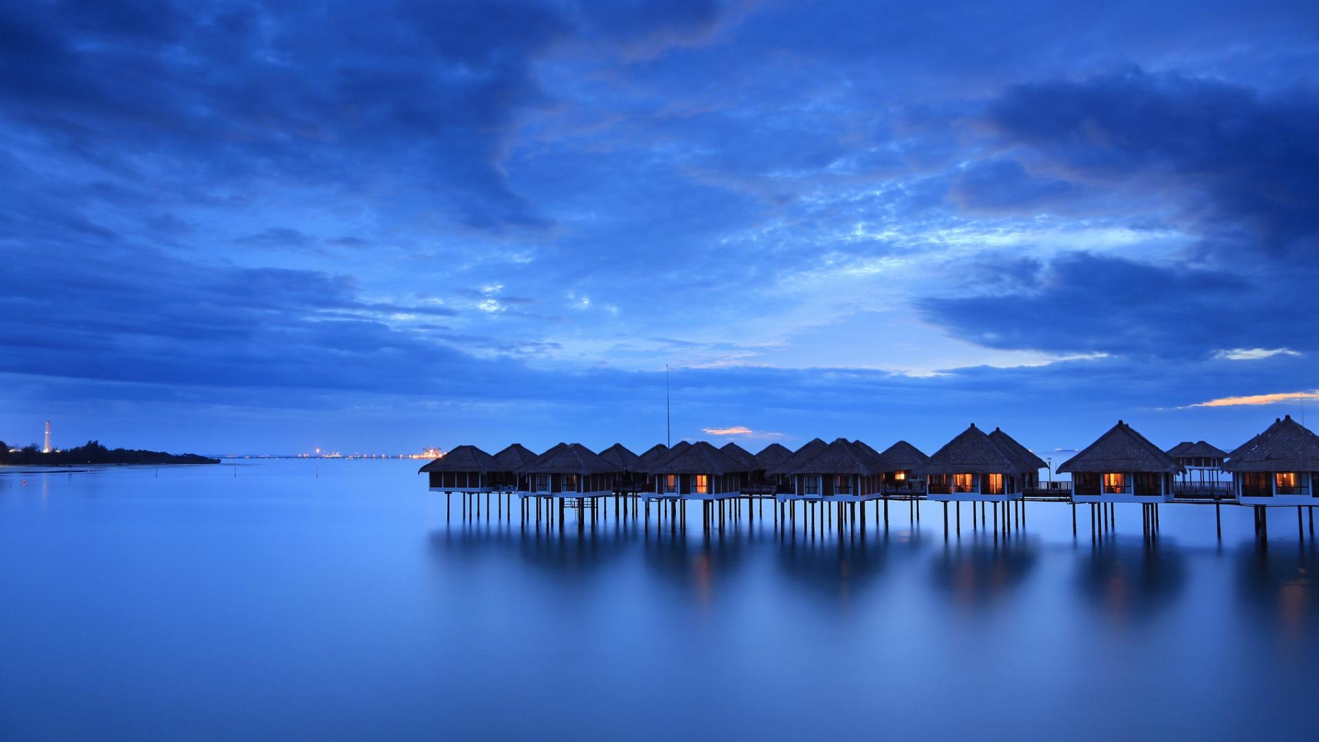 Villas sur pilotis, Malaisie