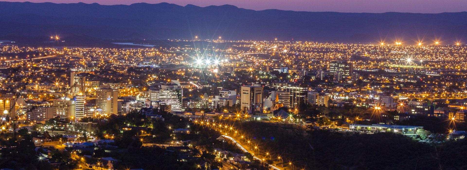 Windhoek, capitale de la Namibie