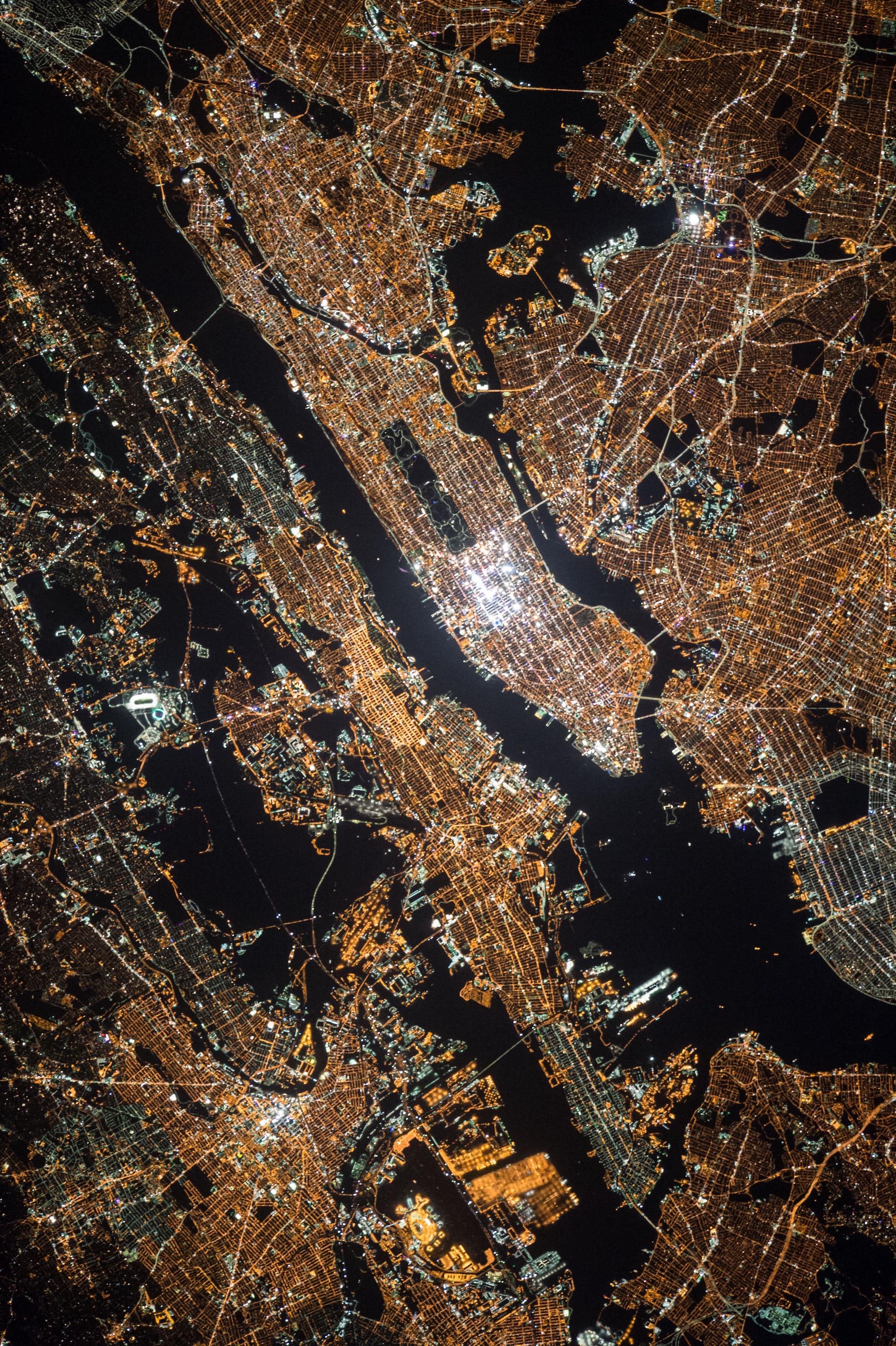New York - lumières de la nuit