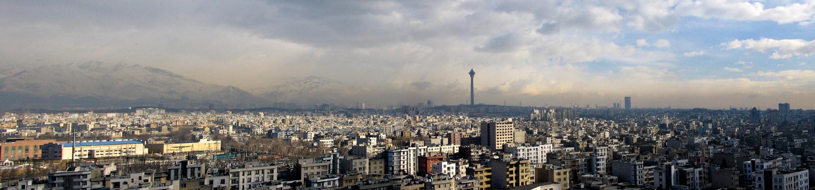 Téhéran - panorama