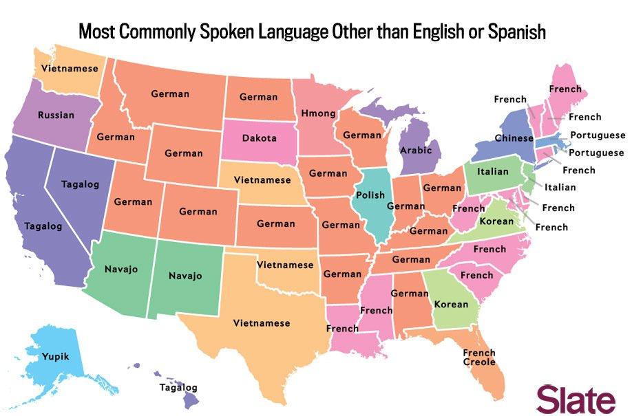 carte espagne langues parlees
