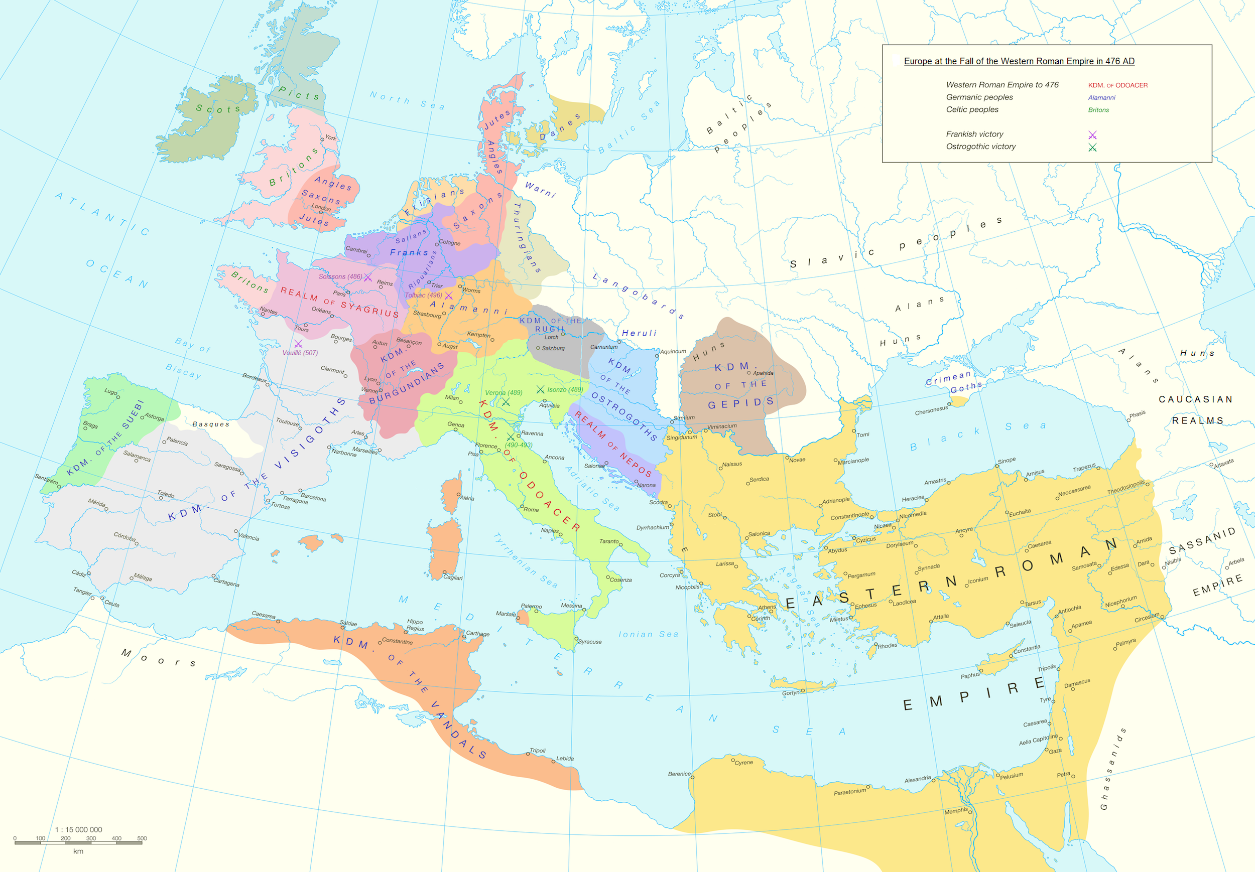 carte europe proche orient