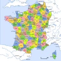 France – départements (1801)