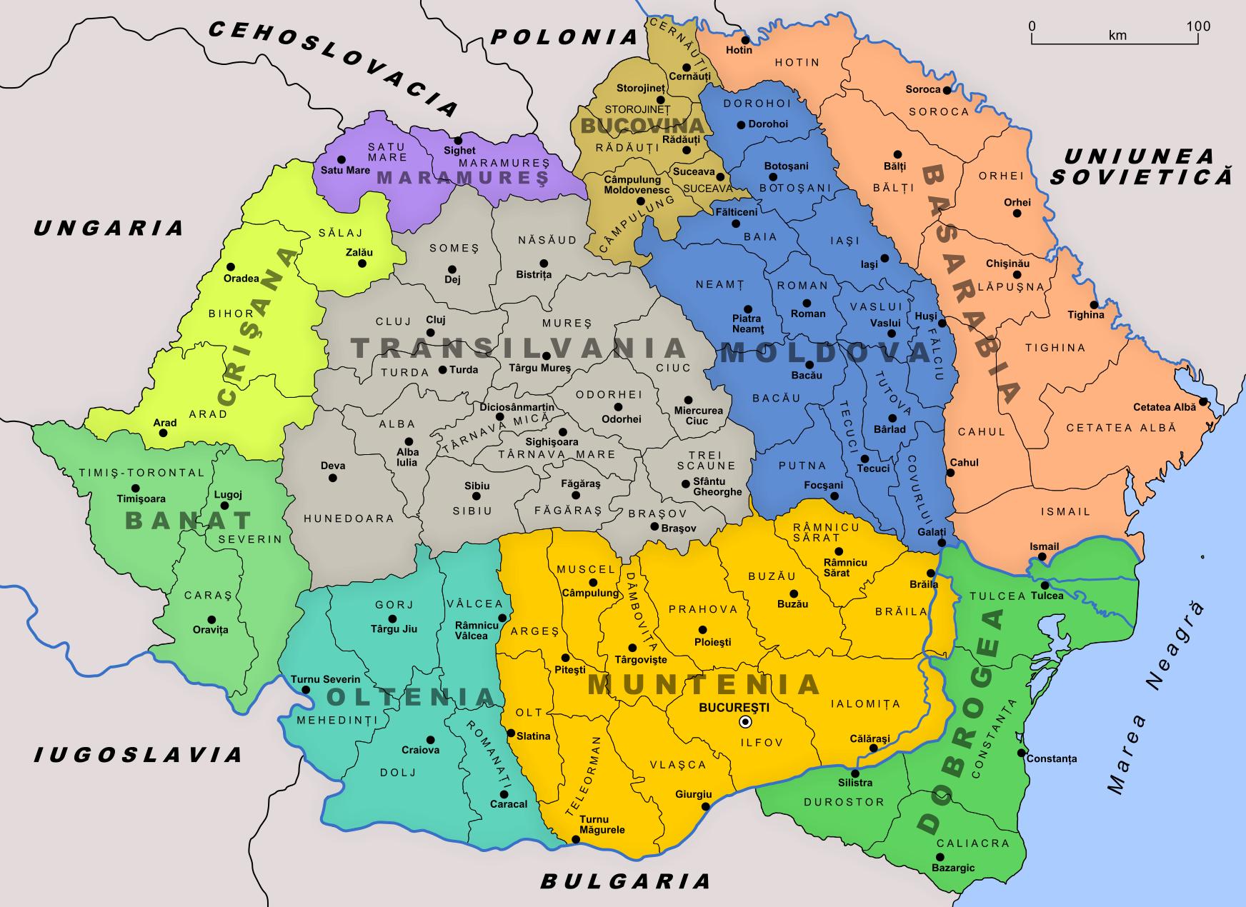Villes De Roumanie Liste