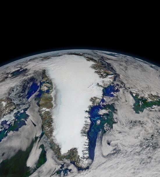 Groenland - satellite