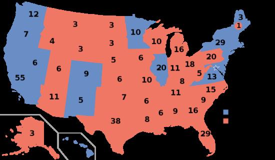 États-Unis - élections présidentielles 2016 (résultats)
