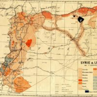 Syrie-Liban : ethnies et religions (1935)