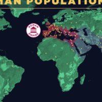 Évolution de la population mondiale dans l'histoire