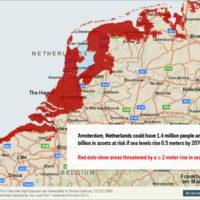 Montée des eaux : des dizaines de millions de personnes menacées