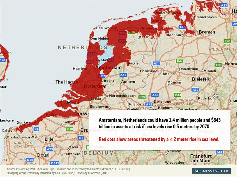 Montée des eaux - Pays-Bas