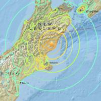 Violent séisme de magnitude 7.8 en Nouvelle-Zélande