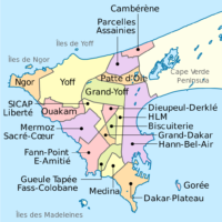 Dakar – districts