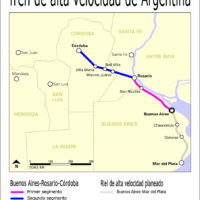 Argentine – TGV (projets)