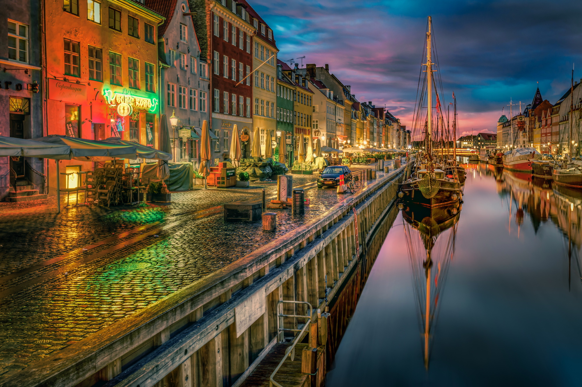 Copenhague - vieux port