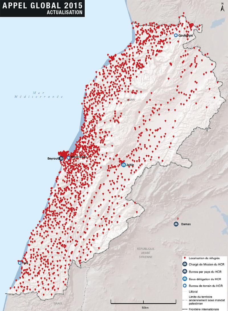 Liban - réfugiés (2015)