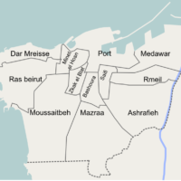Beyrouth – districts