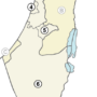 Israël – districts