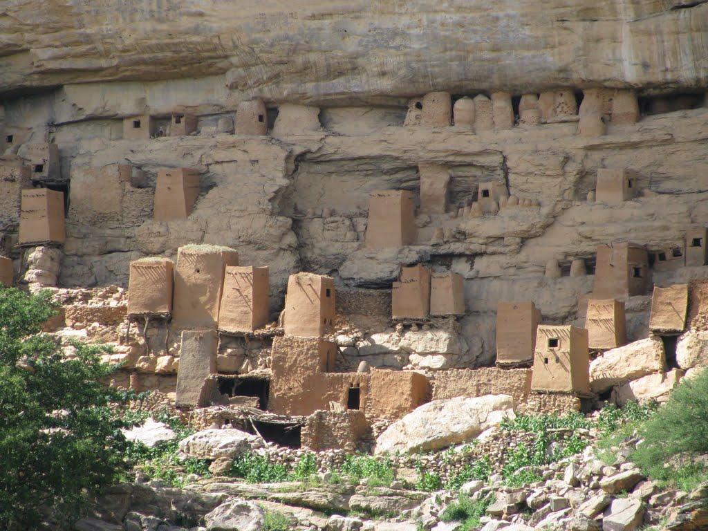 Pays Dogon, près de Mopti, Mali