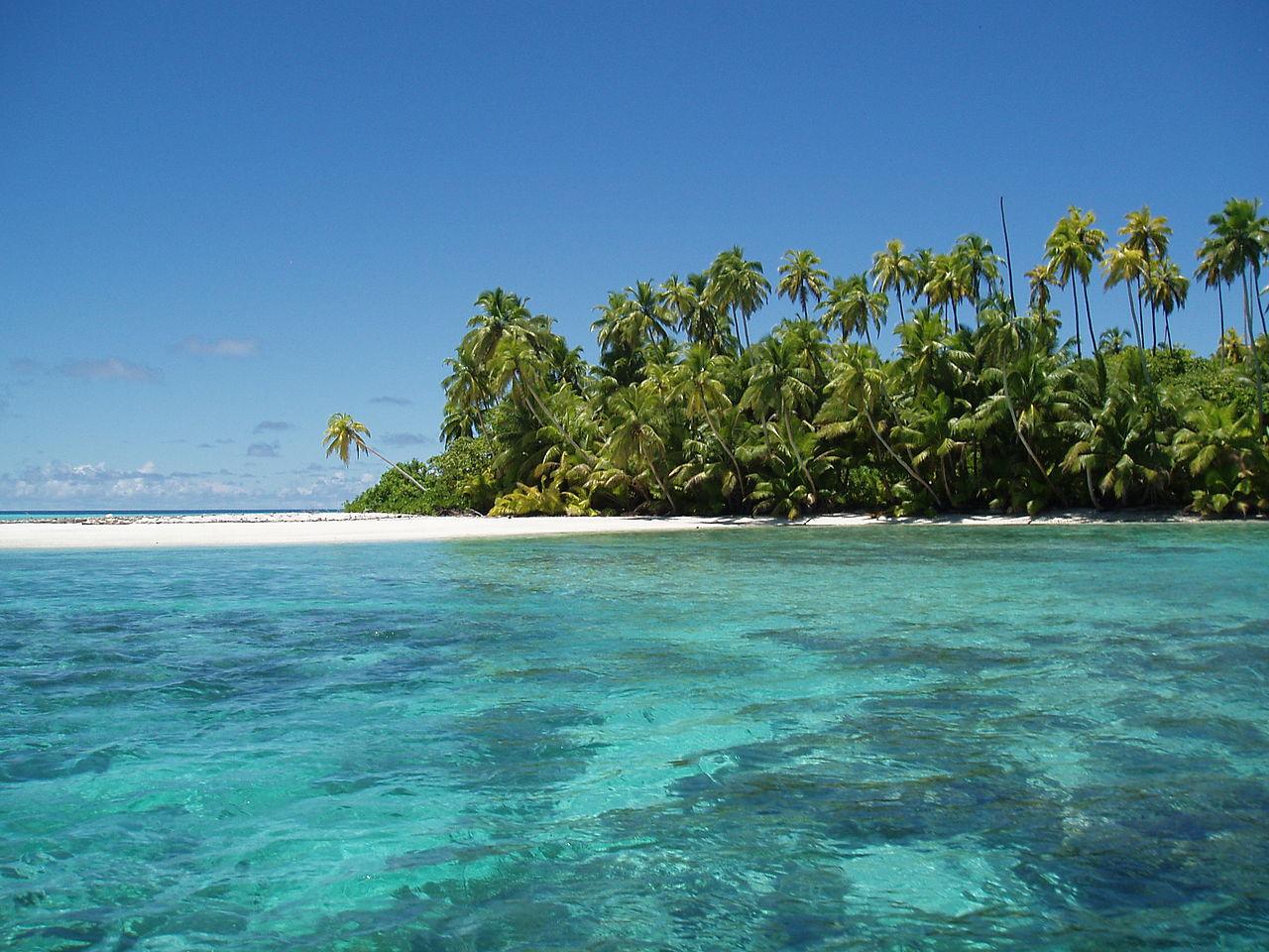 Atoll aux îles Salomons, archipel des Chagos