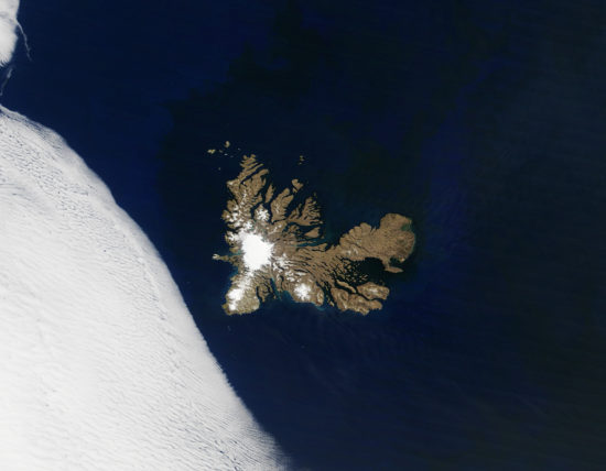 Kerguelen - satellite