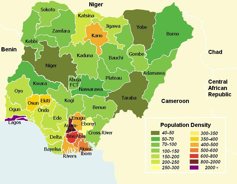 Nig 233 Ria Densit 233 Populationdata Net