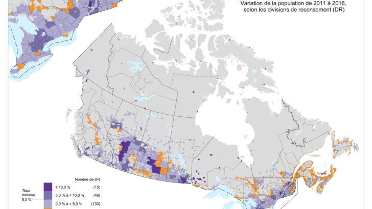 38 millions d'habitants au Canada