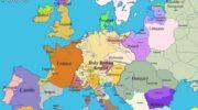Histoire géopolitique de l'Europe, en cartes
