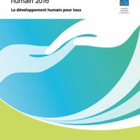 Indicateur de développement humain (IDH) 2016