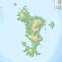 Mayotte – topographique